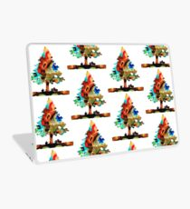 A Certain Kind Of Freedom - Guitar Motorcycle Art Print Laptop Skin