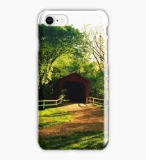 Covered Bridge iPhone Case/Skin