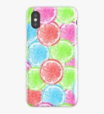 watercolor summer orange  iPhone Case/Skin