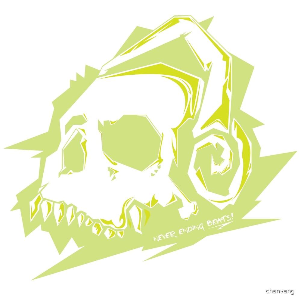 Bone Beats Green by chanvang