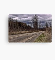 Isolation Road Canvas Print