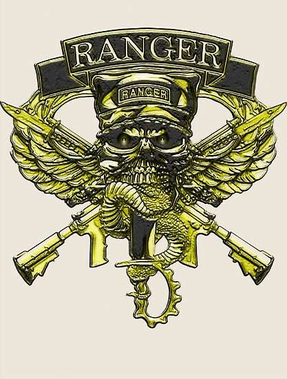 US Army Ranger Placard by Walter Colvin