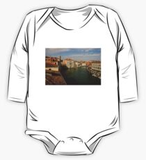 Venetian View of the Grand Canal One Piece - Long Sleeve