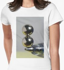 An Act of Balance Women's Fitted T-Shirt