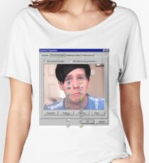 Phil crying. Women's Relaxed Fit T-Shirt