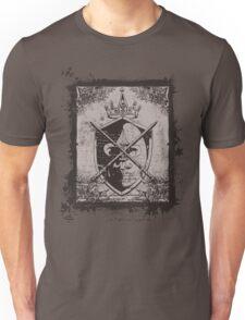 Heraldic Crown, Swords and Shield - Heraldry T-Shirt