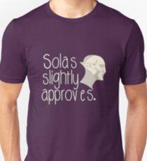 Solas Slightly Approves Unisex T-Shirt