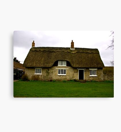 Thatched Cottage - Harome Canvas Print