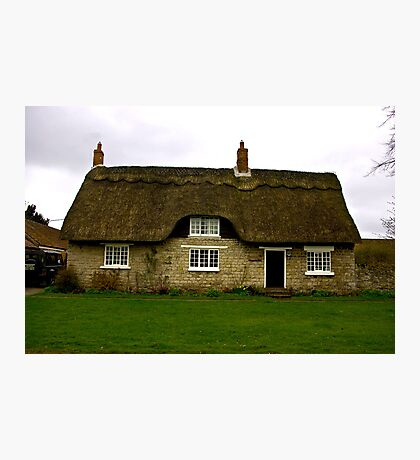 Thatched Cottage - Harome Photographic Print