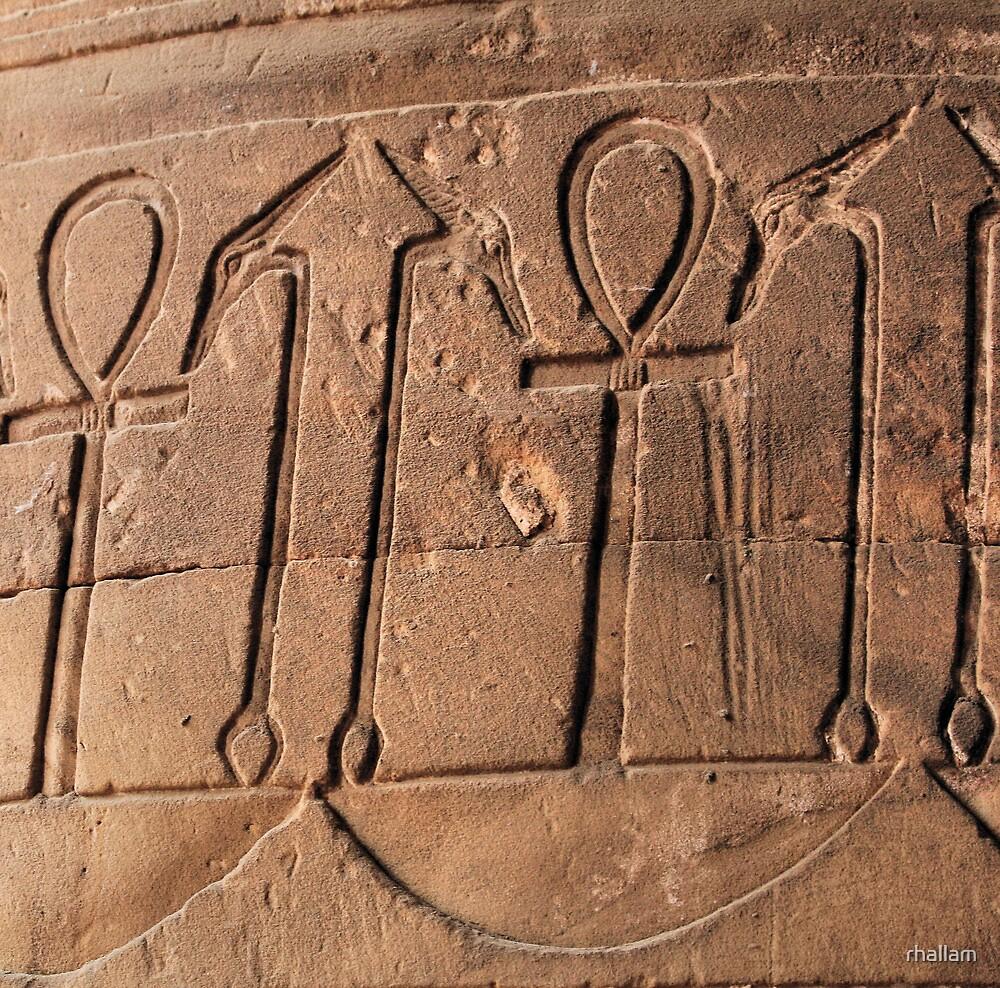 Ankh symbol hieroglyph by rhallam