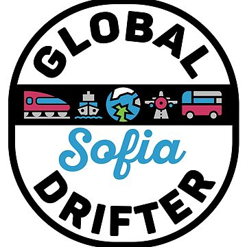 Sofia Bulgaria Global Drifter Travel by designkitsch