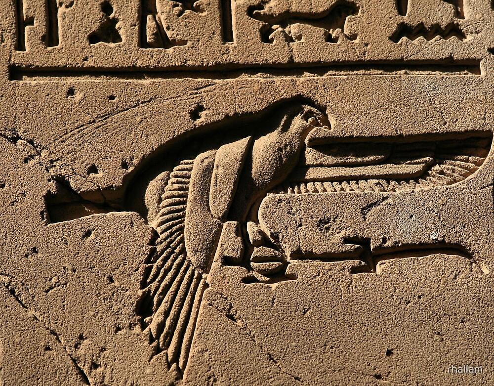 Bird hieroglyph 2 by rhallam