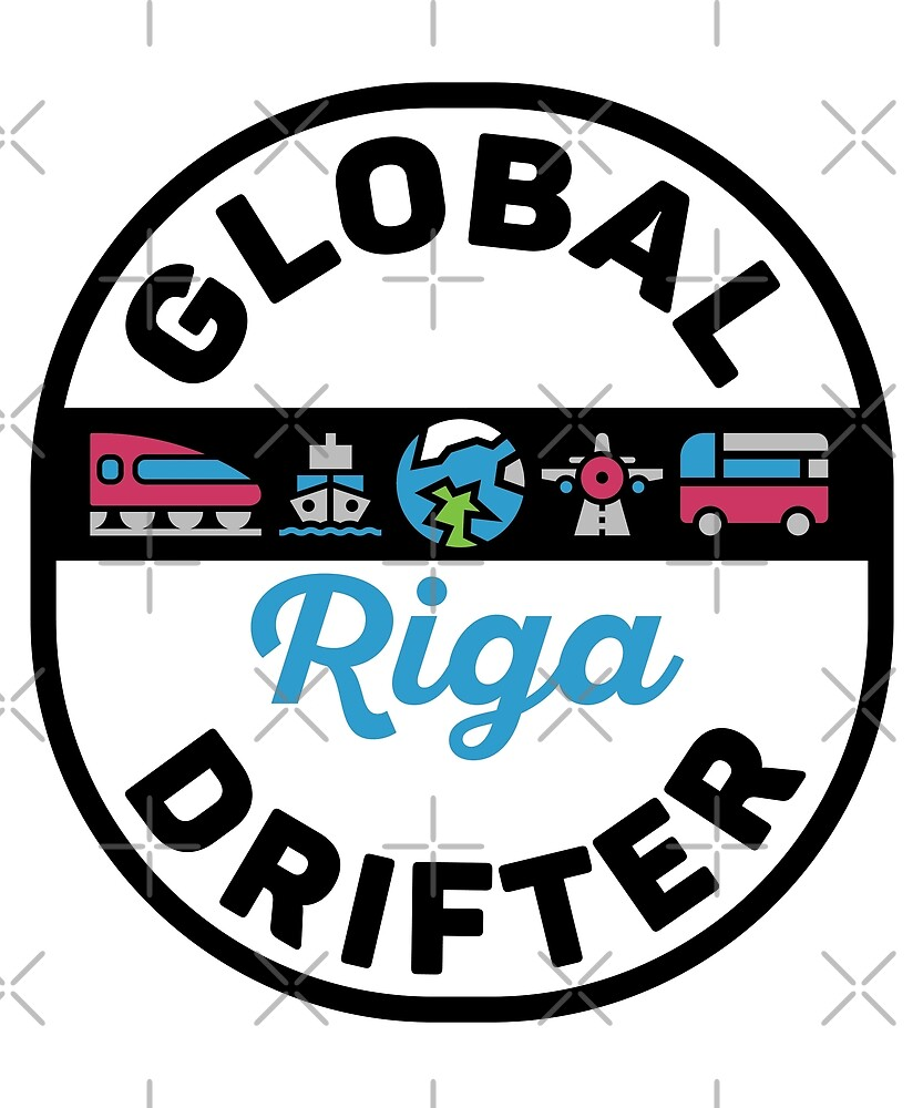 Riga Latvia Global Drifter Travel by designkitsch