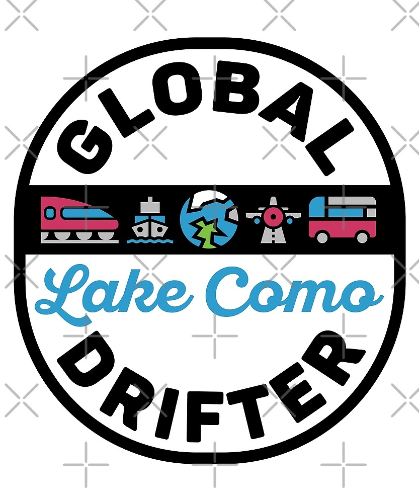 Lake Como Italy Global Drifter Travel by designkitsch
