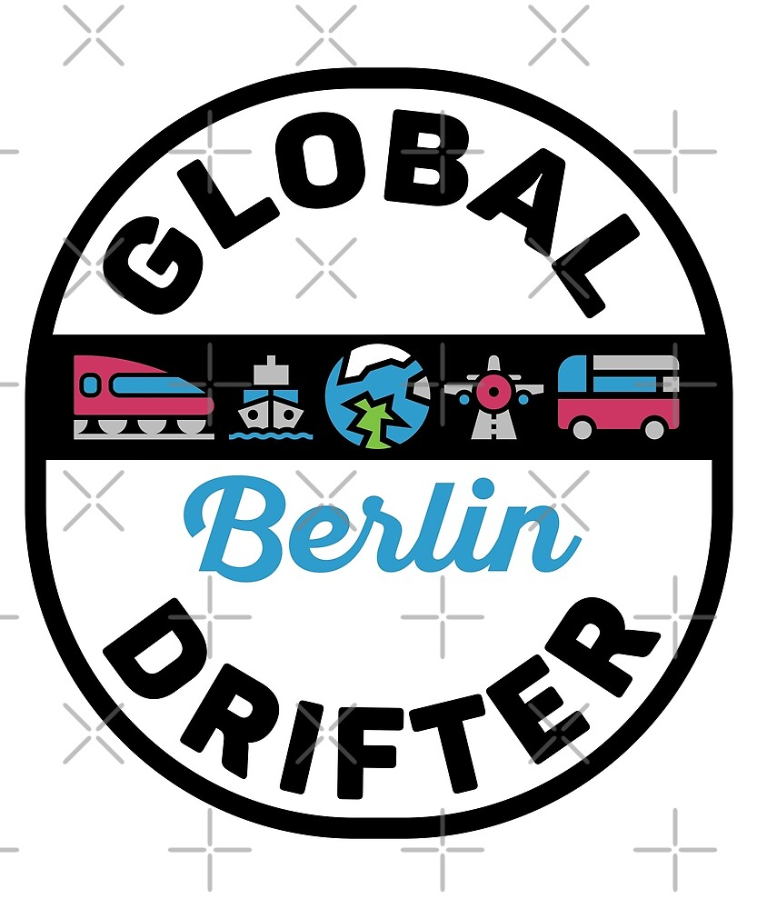 Berlin Germany Global Drifter Travel by designkitsch