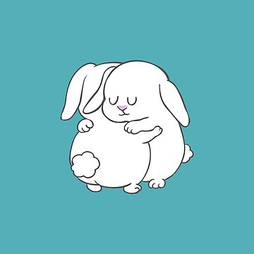 Bunnies Hugs by Huebucket