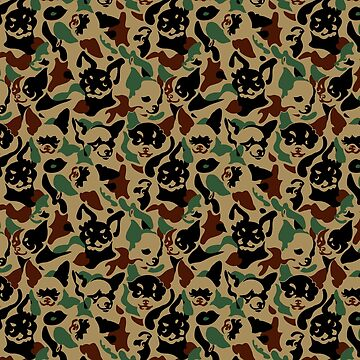 Chihuahua Camouflage by Huebucket