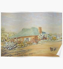 Farm House in Dumbleyung Poster