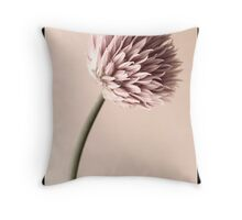 Chive Flower Throw Pillow