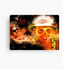 Fear and Loathing in Las Vegas - Alternative Movie Poster Canvas Print
