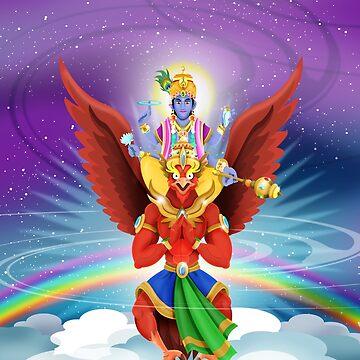 Vishnu & Garunda von Swen-Marcel
