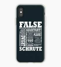 Vinilo o funda para iPhone Dwight Schrute