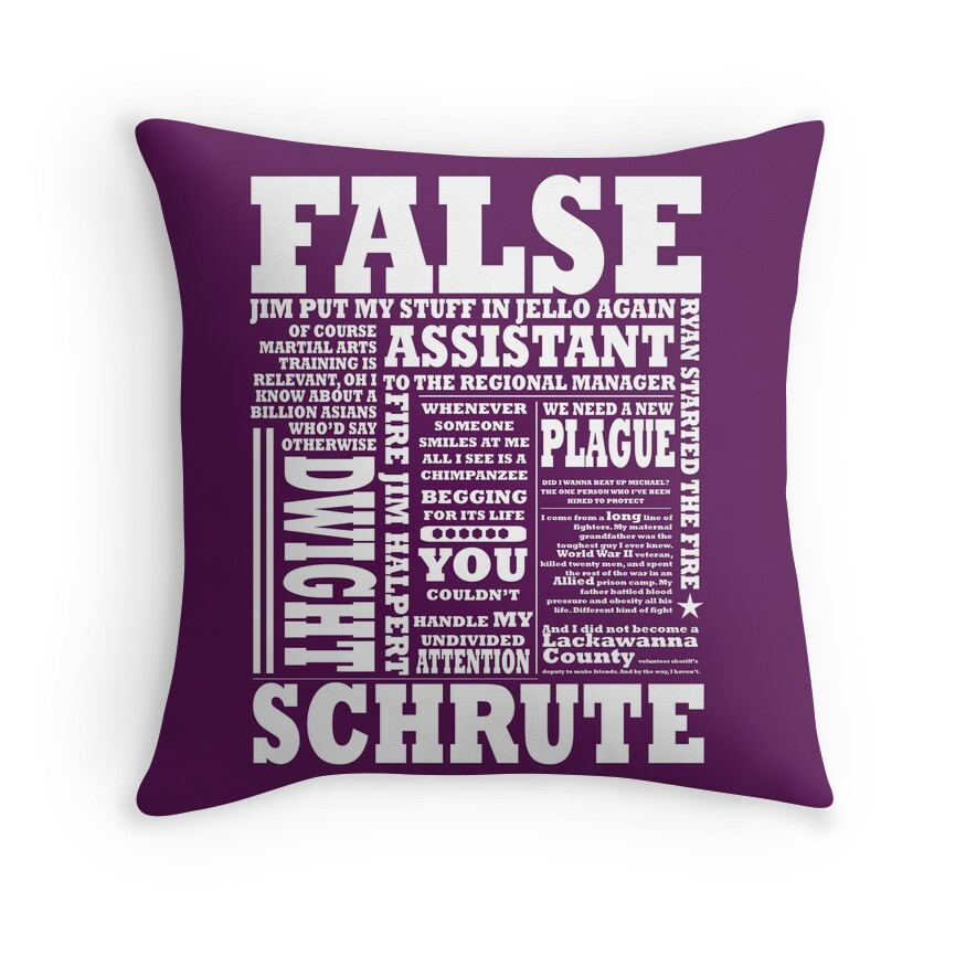 Funny Sayings: Throw Pillows Redbubble