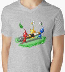 Pikmin Who Men's V-Neck T-Shirt