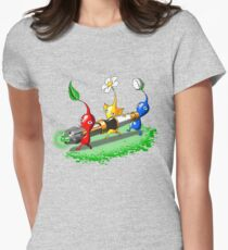 Pikmin Who Womens Fitted T-Shirt