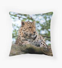 Leopard 9 Throw Pillow