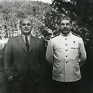 Stalin Beria Сталин Берия mature adult standing suit  by znamenski