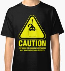 Suu Hazard Sign (English version, for dark backgrounds) Classic T-Shirt