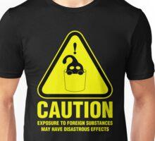Suu Hazard Sign (English version, for dark backgrounds) Unisex T-Shirt