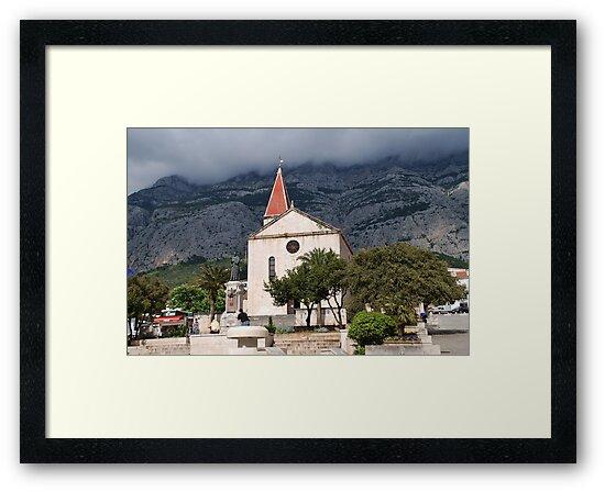 St. Marks church, Makarska by David Fowler