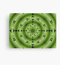 giant lily pad abstract Canvas Print