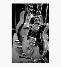 Glenwood Electric Guitar Photographic Print