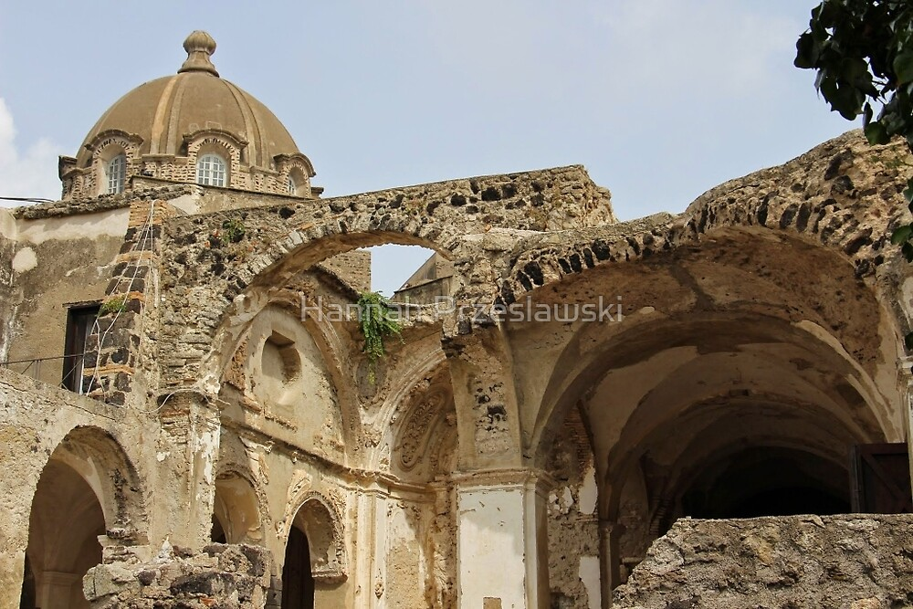 Castello Aragonese d'Ischia, Italy by Hannah Przeslawski