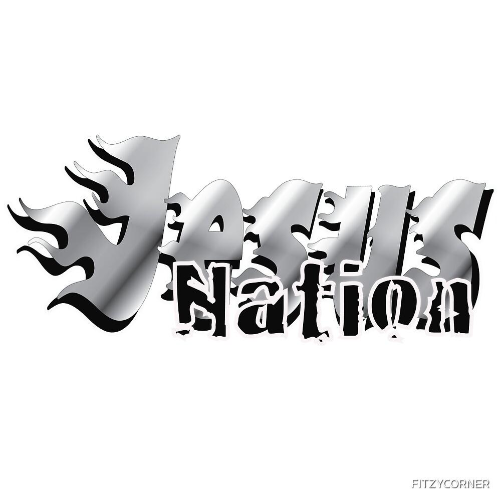 JESUS NATION by FITZYCORNER