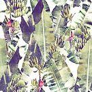 Misty Mountains of Pintuyan: Banana Grove #Vintage Green by MalapitDesign