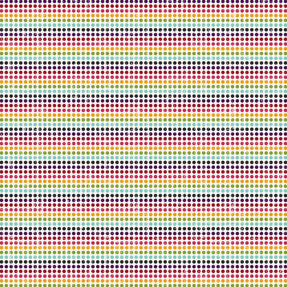 Colorfull Vintage Abstract Pattern by AbstractCreatur