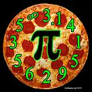 Pizza Pi by EyeMagined