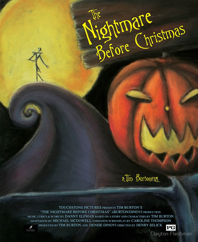 The Nightmare Before Christmas by Clayton Fleshman