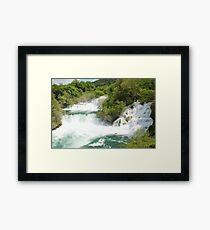 Krka waterfalls, Croatia Framed Print
