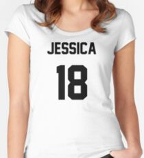 Jessica Jung Jersey Women's Fitted Scoop T-Shirt