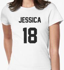 Jessica Jung Jersey Women's Fitted T-Shirt