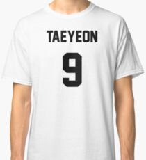 SNSD Taeyeon Jersey Classic T-Shirt