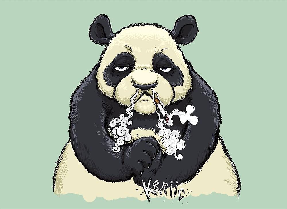 Bad panda by Hurtu