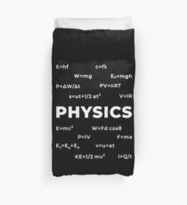 Physics Duvet Cover