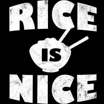 Reis - Geschenk für Asiaten Asien T-Shirt von FluffigerSchuh