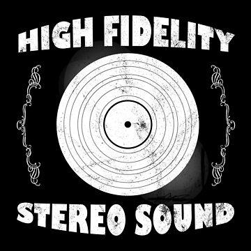 Plattenspieler Vinyl Schallplatte DJ Retro Vintage von FluffigerSchuh